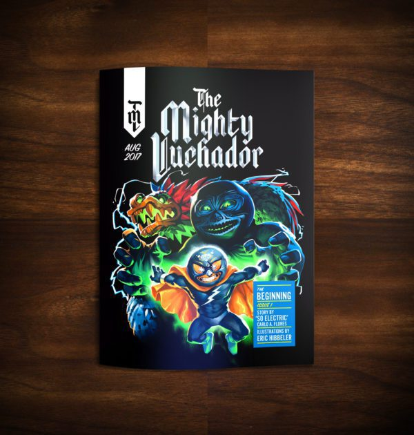 The Mighty Luchador Issue #1